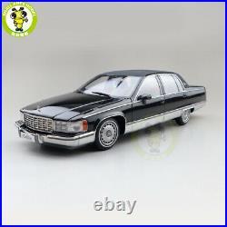 1/18 Cadillac Fleetwood Diecast Model Car Boys Girls Gifts Black