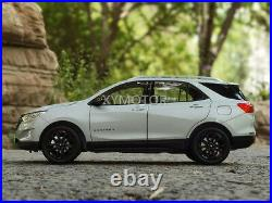 1/18 Chevrolet Equinox RS 2020 Diecast Car Model Toys boys girls Gifts Silver