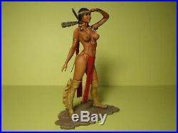 1/18 Figure Girl Sumati Vroom Painted For Exoto Minichamps Ertl