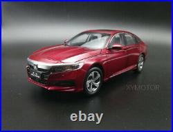 1/18 Honda Accord 10th 2018 Diecast Model Car Model Toys kids Boy Girl Gifts