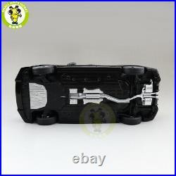 1/18 Honda CIVIC 2020 Hatchback Diecast Metal Car Model Toys Boy Girl Gift Black
