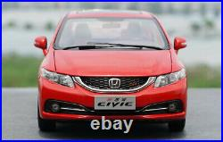 1/18 Honda CIVIC Si 9 Diecast Metal Car Model Toys Boy Girl Gift Collection Red