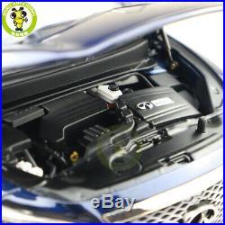1/18 Infiniti QX60 Diecast Model Car Toys Boys Girls Gifts Blue