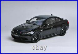 1/18 Kyosho BMW M3 E92 Coupe Diecast Model Car Toys Boys Girls Gifts Black