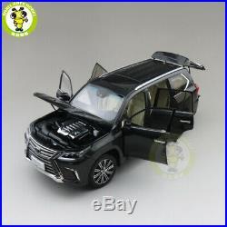 1/18 Kyosho Toyota Lexus LX570 Diecast Model Car SUV TOYS Boys Girls Gifts Black