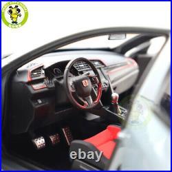 1/18 LCD Honda Civic Type R 2020 Diecast Model Car Toys Boys Girls Gifts Gray