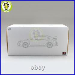 1/18 LCD Honda Civic Type R 2020 Diecast Model Car Toys Boys Girls Gifts Yellow