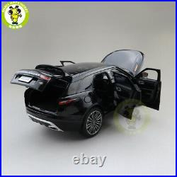 1/18 LCD Land Rover Velar Diecast SUV CAR MODEL TOYS Kids Boy Girl Gifts Black