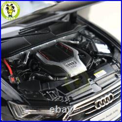 1/18 New Audi A6L A6 2019 Diecast Metal Car Model Toy Boys Girls Gifts Black