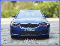 1/18 Norev BMW M5 F90 BMW M Power Diecast Model Car Toys Boys Girls Gifts Blue