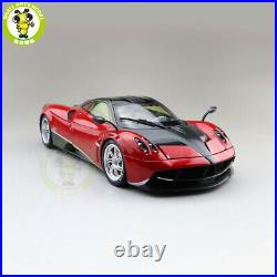 1/18 PAGANI Huayra Welly GTAUTOS Diecast Toys Model Car Boys Girls Gifts Red