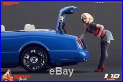 1/18 Short Dress Girl VERY RARE! Figure for118 CMC Autoart Ferrari MR Exoto
