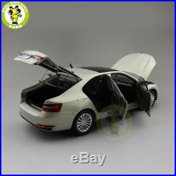 1/18 Skoda New SUPERB Diecast MODEL CAR Toys boys girls gifts Gold