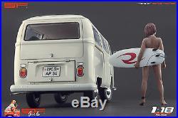 1/18 Surfing girl figure VERY RARE! For118 CMC Autoart Ferrari Exoto