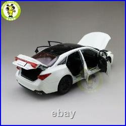 1/18 Toyota Avalon Diecast Car Model Toys kids Boy Girl Gifts Collection White