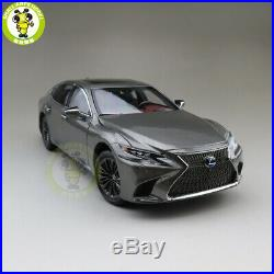 1/18 Toyota Lexus LS 500h Diecast Model Car TOYS Boys Girls Gifts Gray