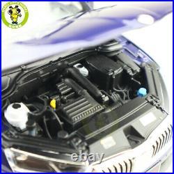 1/18 VW Skoda Octavia PRO 2021 Diecast Model Toys Car Boys Girls Gifts Blue
