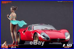 1/18 Wind Girl VERY RARE! Figure for118 CMC Autoart Ferrari MR Exoto
