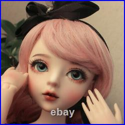 1/3 BJD Doll 60cm MSD Girl Doll with Changeable Eyes Clothes Full Set Outfit Toy