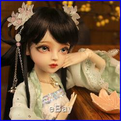 1/3 BJD Doll for Girl Gift Dolls with Free Face Makeup Eyes Full Set Clothes Toy