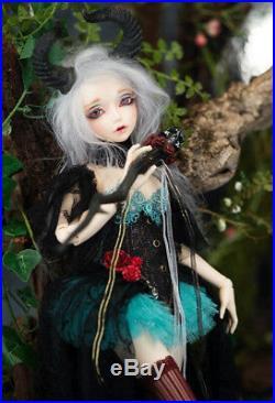 1/4 BJD Doll Resin Fairy Ria Minifee For Baby Girl Shuga Fashion Style Cool Toys