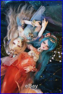 1/4 BJD Doll Serin Rico Fish Mermaid Resin Doll For Baby Girl BJD Toy Gift Newly