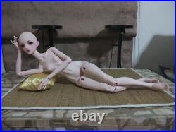 1/4 BJD SD Girl Doll Women Free eyes+Face make up Female Resin Toys Gift
