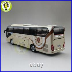 1/42 YuTong Bus ZK6128HQB Bus Coach Diecast Bus Car Model Boy Girl Gifts Toys