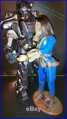 1/6 Fallout 4 76 Vault-Girl Pip-boy Bobblehead for Power Armor ThreeZero