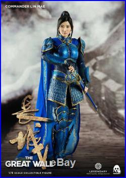 1/6 Female Figure Threezero 3Z0048 Chinese Girl Lin Mae Jing Tian The Great Wall