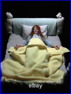 1/6 Rainman V1 & V2 Girl of Satan Regan Exorcist DX Figure Set with Bed Only 25
