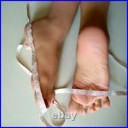 1 Pair Silicone Female Ballet Girls Foot Feet Model Deep Wrinkles Sculpture Toys