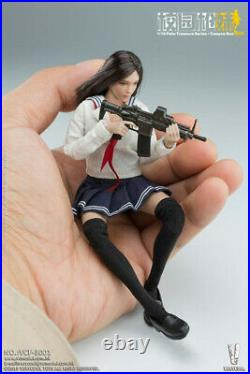 112 VERYCOOL Mini Female Action Figure Combat Girl Model Toy Collection Ornamen