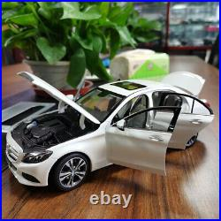 118 NOREV BENZ C CLASS 2014 W205 Diecast Car Model Toys Boys Girls Gifts White