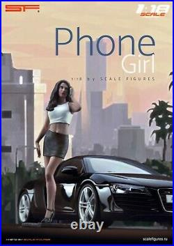 118 Phone Girl VERY RARE! Figurine, NO CARS! For CMC Autoart by SF