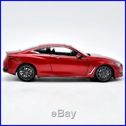 118 Scale Original Infiniti Q60 2018 Diecast Model Car Toys For Boys&girls