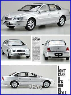 118 Shanghai BUICK ROYAUM Silver DIECAST MODEL CAR TOY With Case For Boys&Girls