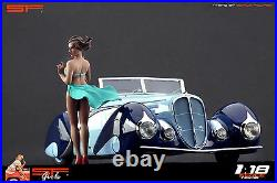 118 Wind Girl VERY RARE! Figurine NO CARS! For diecast collectors by SF