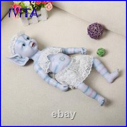 15'' Full Body Silicone Reborn Doll Multiracial Baby Avatar Girl Toy Xmas Gift
