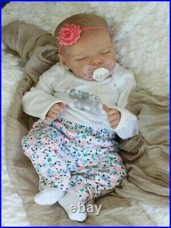 17 Inches Journey Reborn Baby Doll Girl Gifts Children's Toys Organic Silicone