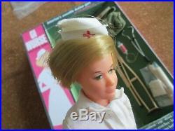 1964 VINTAGE GI JOE 1967 GI NURSE ACTION GIRL With Accessories & Nice Repo Box