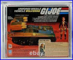 1983 Hasbro GI Joe Wolverine with Cover Girl AFA 85