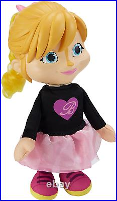 Alvin and the Chipmunks Toy The Chipettes Talking Brittany Doll BRAND NEW