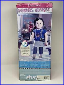 American Girl Doll Z Yang BRAND NEW IN BOX WITH BOOK global shipping Z Doll