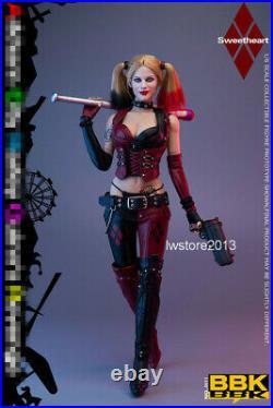 BBK 16 BBK011 Girl JOKER Clown Revenge 12inch Female Action Figure Toys