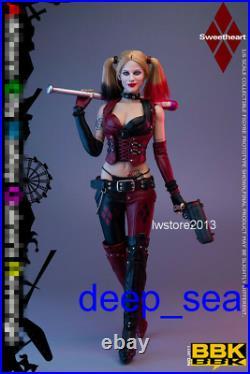BBK 16 femaleBBK011 Girl JOKER Clown Revenge 12inch Action Figure Toys Presal