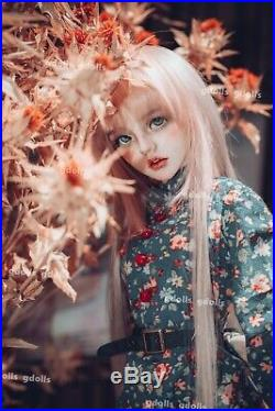 BJD 1/3 Doll Girl Beauty Woman Free eyes+Face make up Female Resin Figures Toys