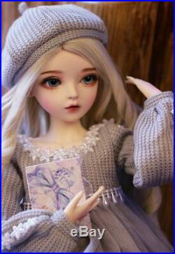 BJD Doll 60cm Gifts for Girl With Full Set Clothes Change Eyes Wigs DIY Toys