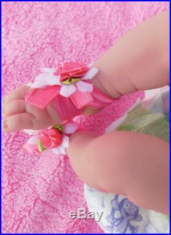 Baby Girl Doll Realistic Reborn Berenguer 15 Vinyl Lifelike Toy Alive Newborn