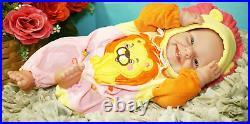 Baby Girl Preemie Life like Reborn Doll Vinyl Silicone Real Newborn Gift Toy